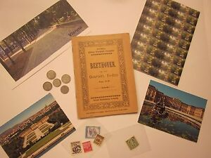 VIENNA ANTIQUES BEETHOVEN COINS STAMPS CARD MAGNET 34 SOUVENIRS #6