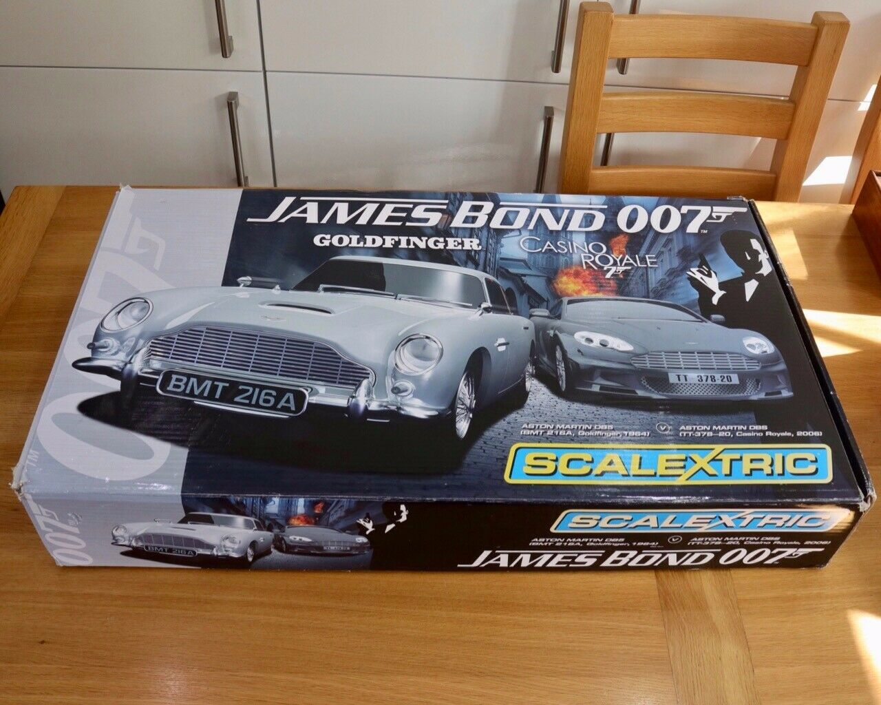 Scalextric set, James Bond Casino Royale, boxed and complete