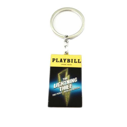 Percy Jackson Lightning Thief Broadway Production Pendant Keychain