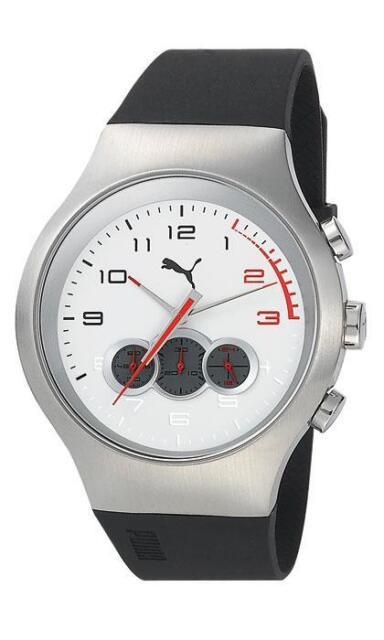 Puma Time A.pu102791005 Montre Homme Quartz Analogique Bracelet Plastique Noir