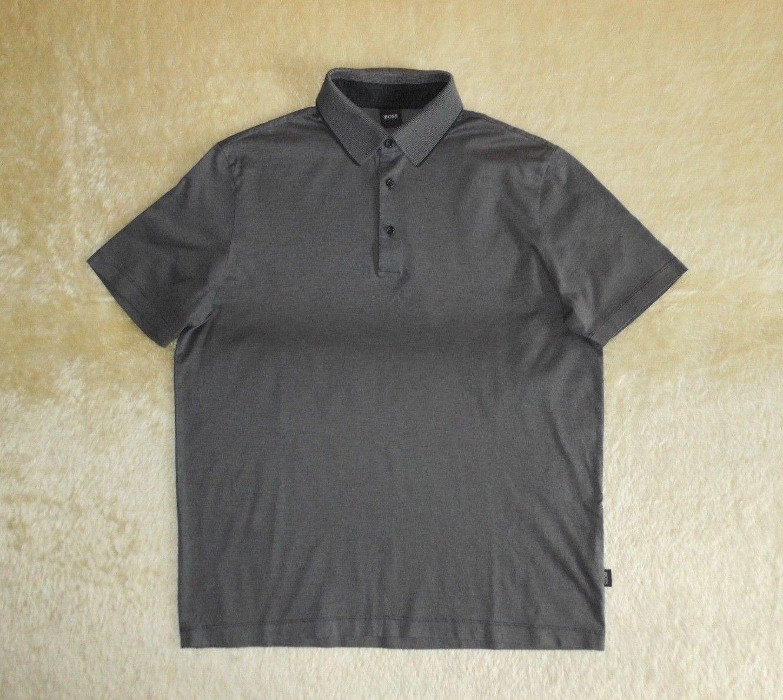 66b3fba03e2 Mens Hugo BOSS Amalfi Polo Shirt Short Sleeve - Size Large nbqtjl990 ...