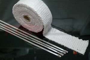 Details about 5 Meter Thermal Tape Ceramic 50 mm Wide High Temperature  Resistant up to 1200°C