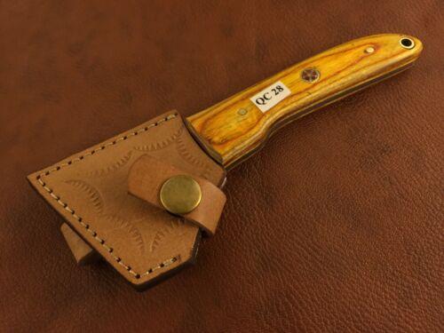 Hecho a mano cuero de acero de alto carbono Cortadora-raspa herramienta-QC28