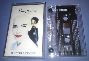 EURYTHMICS-WE-TOO-ARE-ONE-cassette-tape-album-T5230