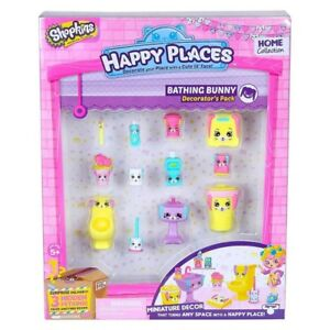 SHOPKINS-HAPPY-PLACES-DECORATOR-039-S-PACK-BATHING-BUNNY-BRAND-NEW