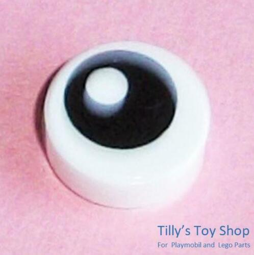 Lego-Douze Imprimé Carreaux-eye sur 1x1 round white Tile-ID 10238-Neuf