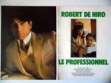 COUPURE DE PRESSE-CLIPPING : Robert DeNIRO Le Professionnel [6pages] 12/1977