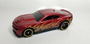 2015-Hot-Wheels-039-12-CHEVY-CAMARO-ZL-1-Flashfire-5-Pack-Red-1-64-V5297-Car