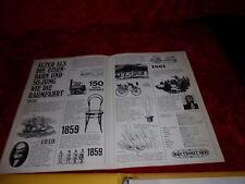 Original Thonet Katalog 721 Musterkatalog Materialmuster Poster Preisliste 1972