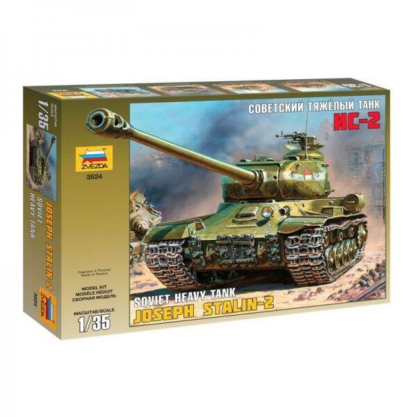 Soviet Heavy Tank Joseph Stalin-2 Plastic Kit 1:35 Model ZVEZDA