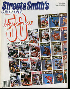1990-Street-amp-Smith-039-s-College-Football-50th-Aniversary-Issue