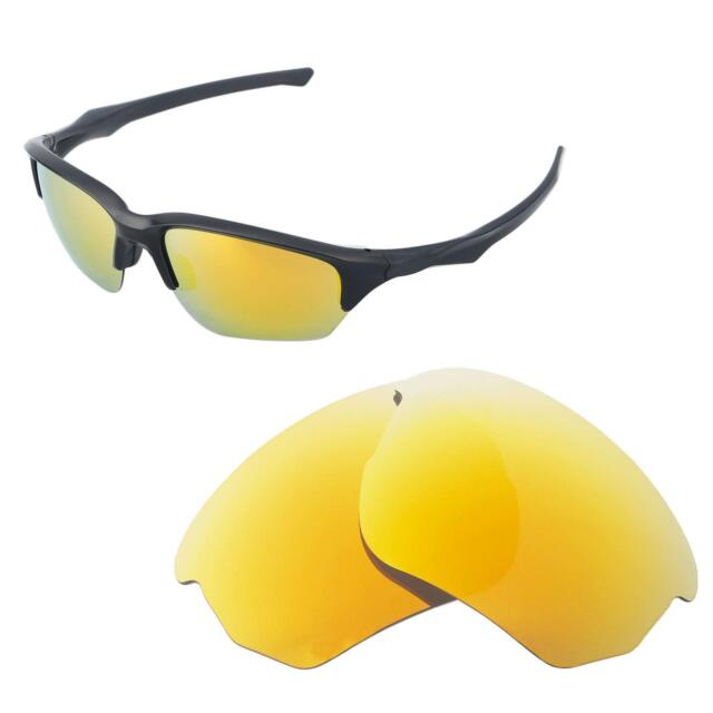 4727436cfbba4 Walleva Polarized 24K Gold Replacement Lenses For Oakley Flak Beta  Sunglasses