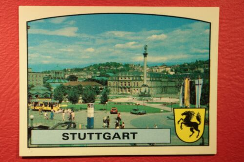 Panini EURO 88 N MINT CONDITION 35 STUTTGART NEW WITH BACK VERY GOOD