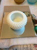 "3"" Westmoreland Milk Glass Diamond Bowl"