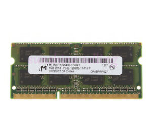 For-Micron-4GB-2RX8-DDR3L-1600MHz-1600-PC3L-12800S-204PIN-SODIMM-Laptop-Memory