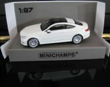 1//87 Minichamps Mercedes AMG C63 Coupe 2019 weiß 870 037021
