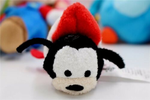 New Disney Store Tsum Tsum Rocket Ship Goofy Plush Toy 3.5/""