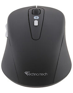 Technotech Bluetooth Wireless Optical Mouse for Laptop Desktop Mobile Tablet