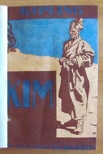 Kipling-KIM-Soc-Anonima-Quintieri-1920-Prima-traduzione-Italiana-RARO