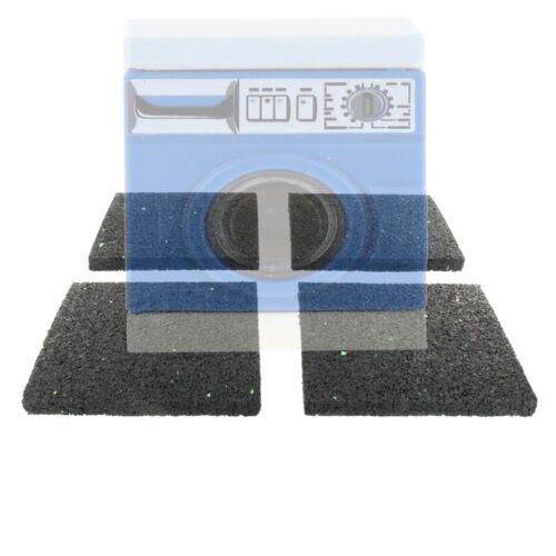 4x 2.Wahl Gummipads Antirutschmatte 8mm f Waschmaschine als Vibrationsdämpfer