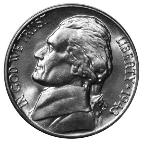 1943-D Silver Full Step FS Gem BU Jefferson Nickel SP