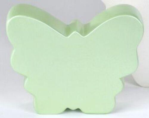 von Formano 22cm Keramik glänzend Deko /& Geschenkidee Figur Schmetterling grün