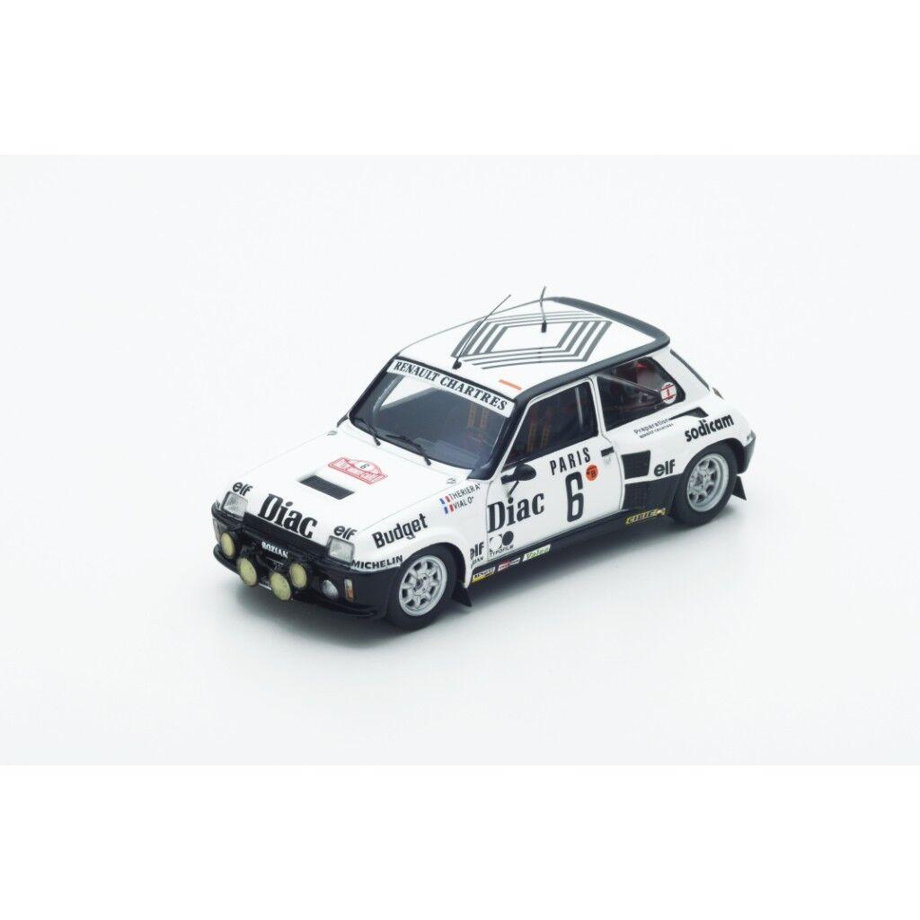 1 43 RENAULT 5 Turbo bidirezionali, Rally Monte Carlo 1984 J.L. THERIER