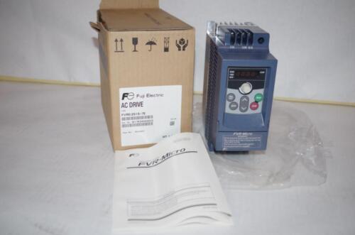 FUJI 0.25 HP 230VAC  1PH INPUT 230V 3PH OUT VFD  Drive  # FVR0.2S1S-7E   NEW!