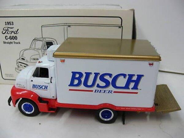 1 34 FIRST GEAR FORD c-600 1953 Busch Beer 19-1623