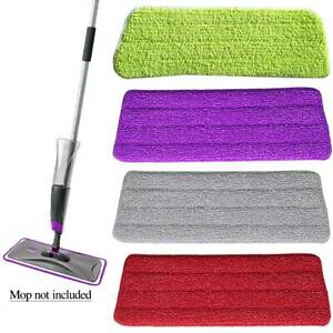 Microfibre-Refill-Pad-Spray-Floor-Mop-Replacement-Head-Sweepers-Home-Cleaning-AU