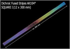 EUR-62-50-m-Dichroytische-Glasstreifen-SQUARE-I-12x300mm-Fused-Stripes