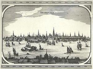 Antique-map-Antwerpen