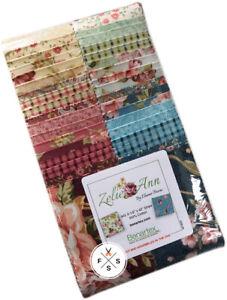 Zelie-Ann-Strip-Pie-2-5-034-Precut-Fabric-Strips-Jelly-Roll-Eleanor-Burns-J18