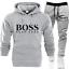 Boss1 Mens Tracksuit Set Hoodie Bottoms Sweat Pants Jogging Sports Trousers Suit