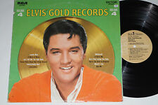 ELVIS PRESLEY -Elvis' Gold Records- Volume 4- LP RCA Victor (LSP-3921)  1968