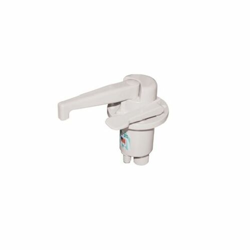 Trailer Dual Action Water Pump for Pop-Up Camper Motorhome White