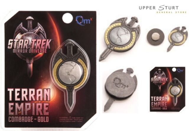 Star Trek TNG Mirror Universe Magnetic Insignia Badge FREE DELIVERY