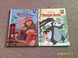 Disney-039-s-The-Hunchback-of-Notre-Dame-amp-The-Jungle-Book-Gronier-hardback-books