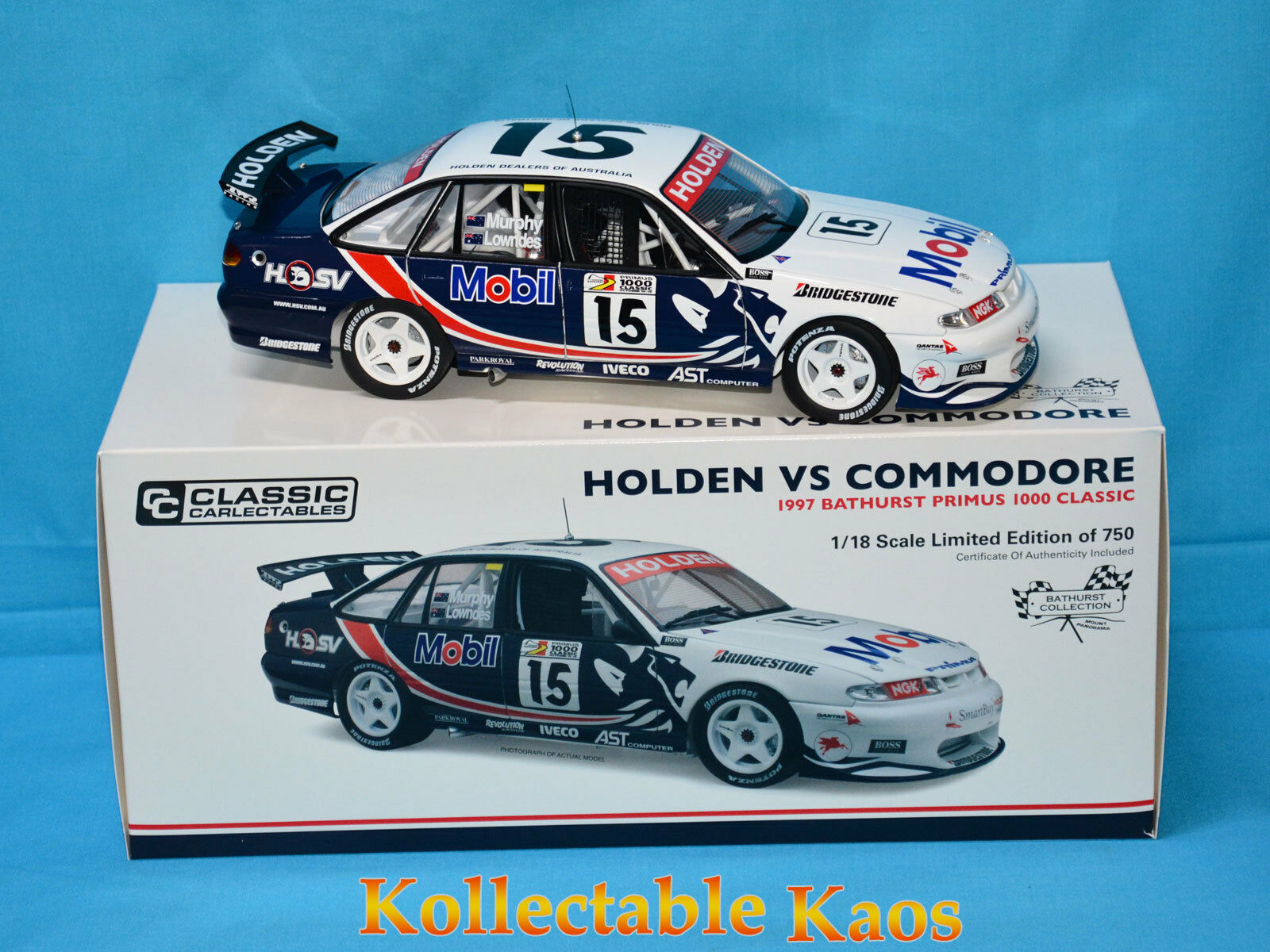 1 18 Classics - 1997 Bathurst Primus 1000 Classic - Holden VS - Murphy Lowndes