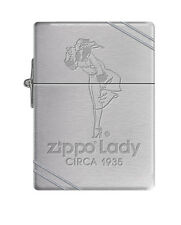 Zippo Windproof Replica 1935 Lighter Zippo Lady, Windy Circa 1935, New In Box