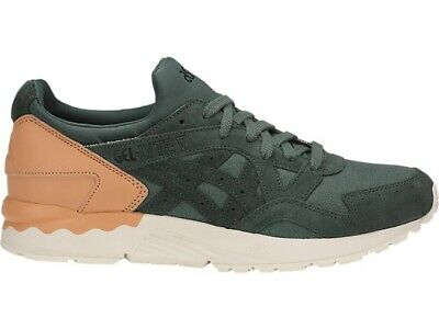 Asics Tiger GEL LYTE V Forest Green Tan Men Women Casual Shoes H835L 8282