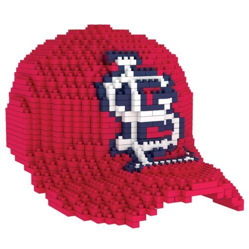 Louis Cardinals 3D BRXLZ Baseball Cap Hat Construction Set Fanatics MLB St