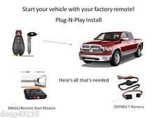 Plug-N-Play Remote Starter 2009-2012 Dodge RAM- DB3- THCHD1 uses OEM remotes