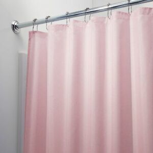 Image Is Loading BRAND NEW SOLID PINK WATER REPELLENT BATHROOM SHOWER