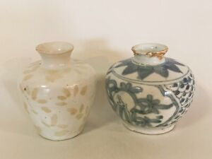 Antique-Two-Chinese-Vases