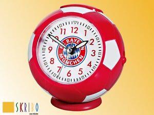 FC-Bayern-Muenchen-Wecker-Fussball-Uhr-NEU