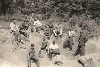 WWII German RP- Soldier- Semi Nude- Gay Interest- Shirtless- At the Front- 1942