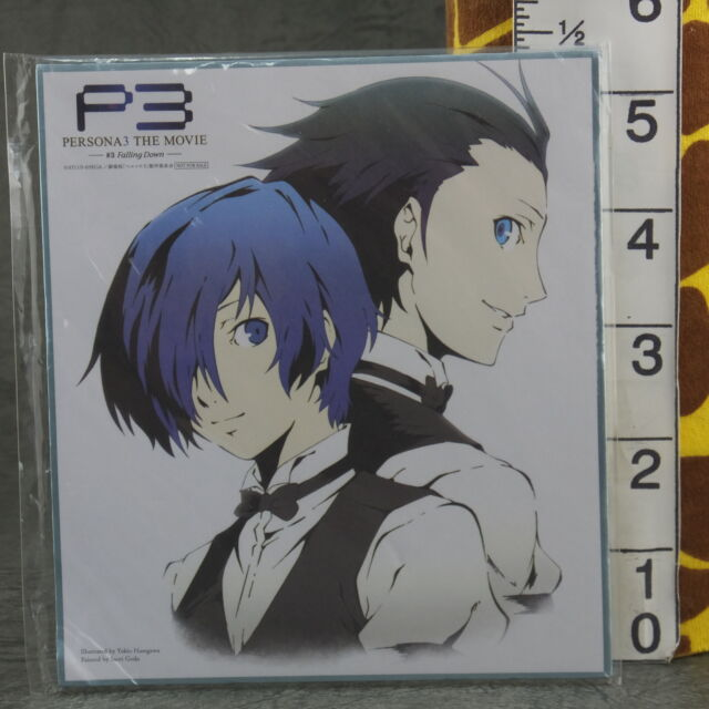 #m790 Anime Character colored paper Persona