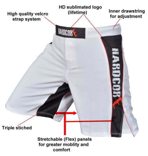 MMA FIGHTING SHORTS UFC CAGE GRAPPLING KICK BOXING MUAY THAI MARTIAL ART SHORT