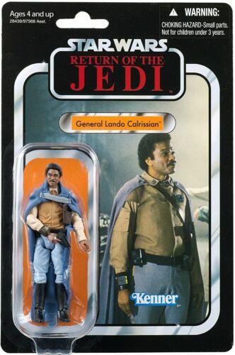 GUERRE STELLARI NUOVO VINTAGE COLLECTION 2020 generale Lando Calrissian Figura